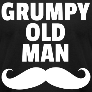 Grumpy Old Man T-Shirts - Men's T-Shirt by American Apparel