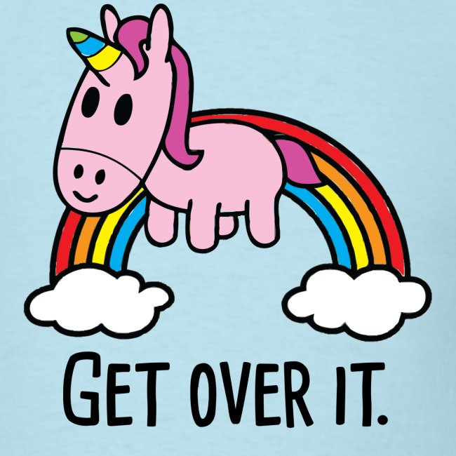 Get Over It Unicorn Tee