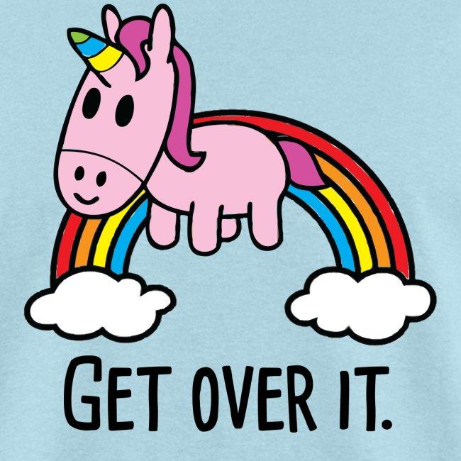 Get Over It Unicorn Tee