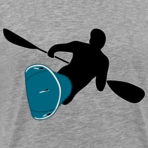 Waveski Surfing - Men's Premium T-Shirt