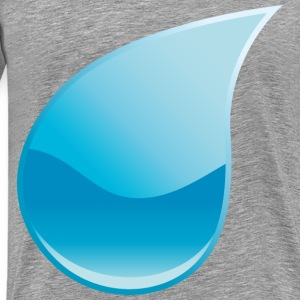 Droplet - Men's Premium T-Shirt