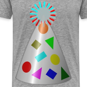 Birthday Hat - Men's Premium T-Shirt