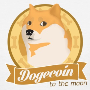 Dogecoin To The Moon Women's T-Shirts - Women's T-Shirt
