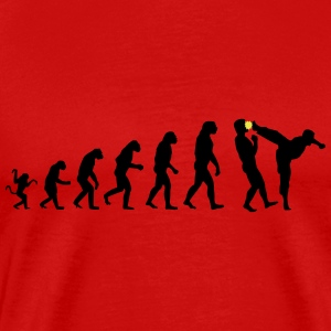 Evolution kicks ass - Men's Premium T-Shirt