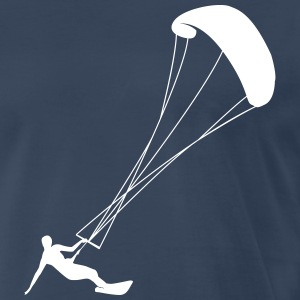 Kiting kite surfing Shirt - Men's Premium T-Shirt