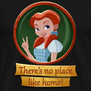 No-place-like-home.png T-Shirts - Men's Premium T-Shirt
