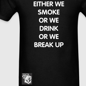 Break Up - Men's T-Shirt