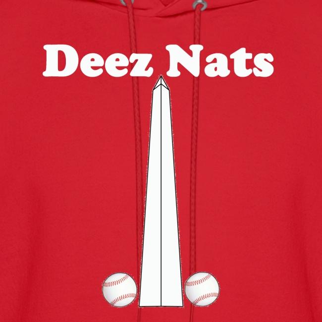 Washington Nationals Deez Nats Red Hoodie