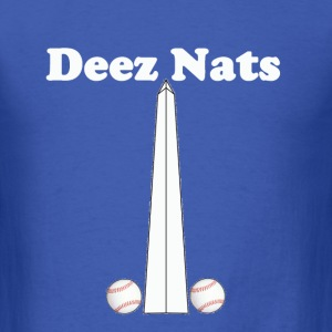 Washington Nationals Deez Nats Blue T Shirt - Men's T-Shirt
