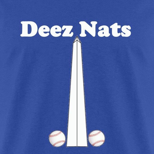 Washington Nationals Deez Nats Blue T Shirt