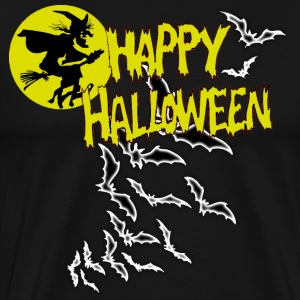 Happy Halloween Witch - Men's Premium T-Shirt