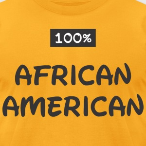 African American T-Shirts - Men's T-Shirt by American Apparel