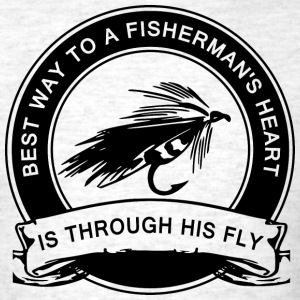 Fly Fishing Humor T-Shirts - Men's T-Shirt