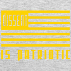 dissent is patriotic Men - Men's Premium Tank