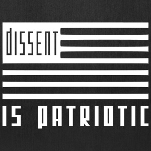 dissent is patriotic Bags & backpacks - Tote Bag