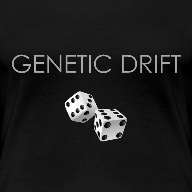 Minimalist design: Genetic drift