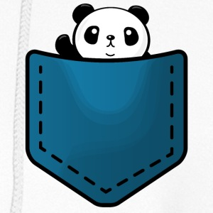 Panda in a pocket Hoodies - Women's Hoodie