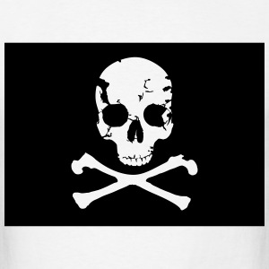 Pirate, Pirat Flag T-Shirts - Men's T-Shirt