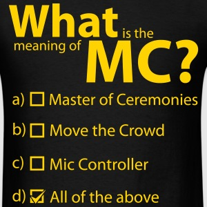 MC Defined - Men's T-Shirt
