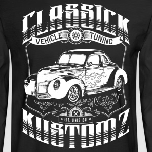 Classick Kustomz (white) Long Sleeve Shirts - Men's Long Sleeve T-Shirt