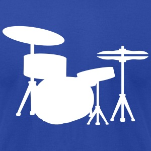 Drums Drummer T-Shirts - Men's T-Shirt by American Apparel