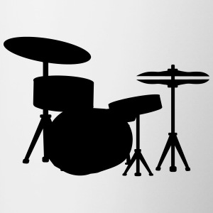 Drums Drummer Bottles & Mugs - Contrast Coffee Mug