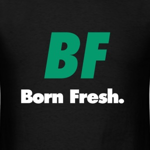 BF green white - Men's T-Shirt