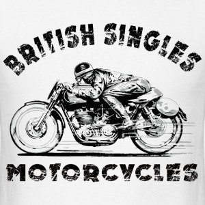 british motorcycles T-Shirts - Men's T-Shirt