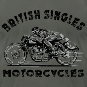 british motorcycles T-Shirts - Men's T-Shirt by American Apparel