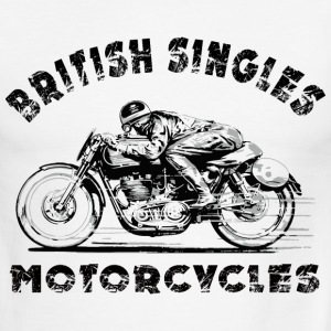 british motorcycles T-Shirts - Men's Ringer T-Shirt