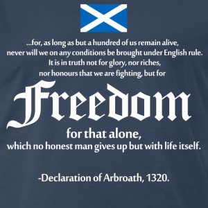 Declaration of Arbroath T-Shirts - Men's Premium T-Shirt