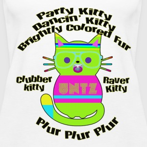 Raver Kitty Tanks - Women's Premium Tank Top