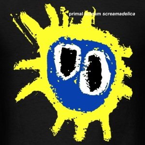 Primal Screamadelica Scream - Men's T-Shirt