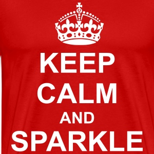 Keep Calm And sparkle T-Shirts - Men's Premium T-Shirt