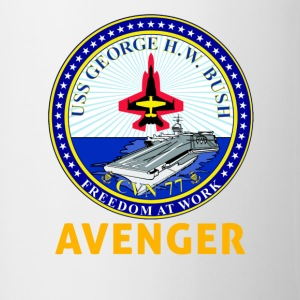 USS George H.W. Bush CVN-77 Avenger Coffee Cup - Coffee/Tea Mug