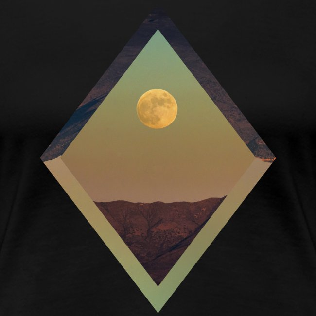 Moon Diamond - WOMENS BLACK