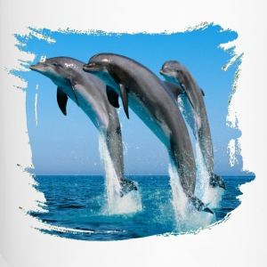 Dolphins Bottles & Mugs - Travel Mug