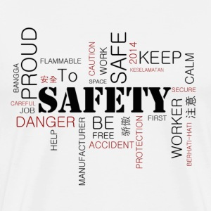 Safety Awareness - Men's Premium T-Shirt
