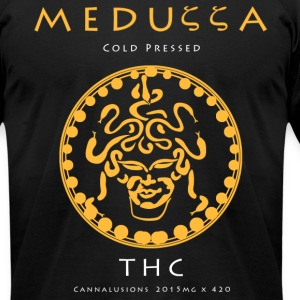 Meduzza Black - Men's T-Shirt by American Apparel