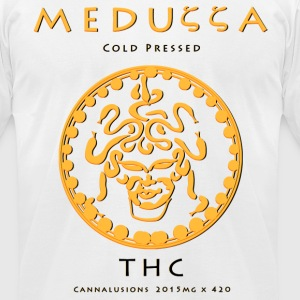 Meduzza White - Men's T-Shirt by American Apparel