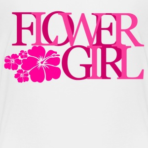 flower girl Kids' Shirts - Kids' Premium T-Shirt
