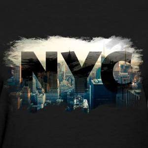 nyc new york city skyline Women's T-Shirts - Women's T-Shirt