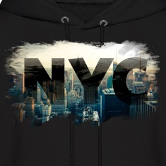 nyc new york city skyline Hoodies