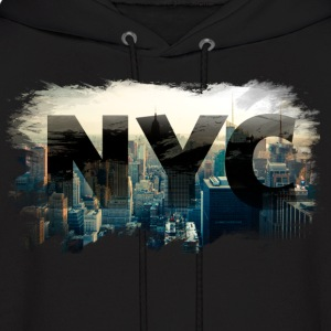 nyc new york city skyline Hoodies - Men's Hoodie