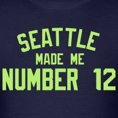 Number 12 T-Shirts