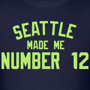 Number 12 T-Shirts - Men's T-Shirt