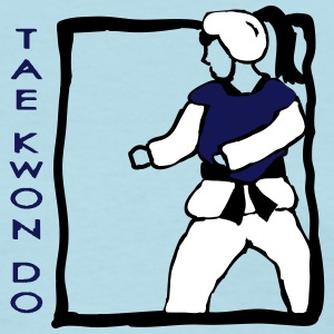 TKD Sparring Girl - Women's T-Shirt