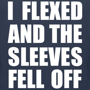 I Flexed and The Sleeves Fell Off Men - Men's Premium Tank
