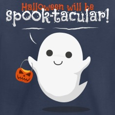 halloween ghost Kids' Shirts