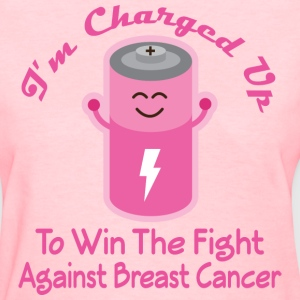 Breast Cancer Fight Cure Women's T-Shirts - Women's T-Shirt